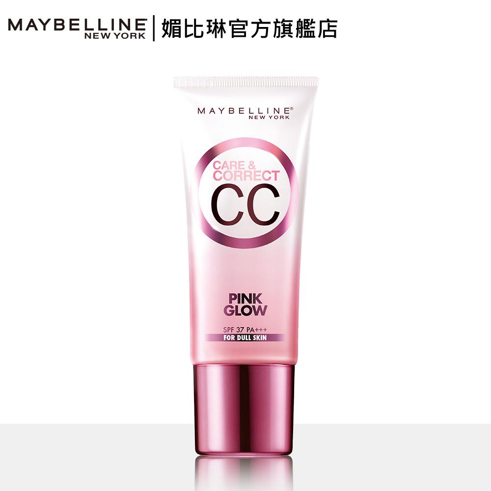 MAYBELLINE媚比琳 寶石光粉紅CC霜SPF37 PA+++  30ml