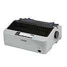 EPSON LQ-310 點陣印表機+優惠套組 S15641色帶5入組合包