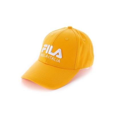 FILA 經典款六片帽-黃 HTU-1001-YE