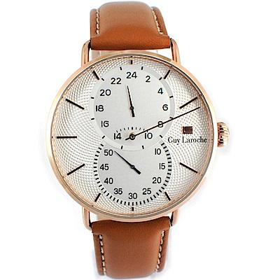 姬龍雪Guy Laroche Timepieces獨立時尚腕錶(GW2012-06)