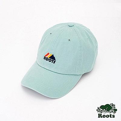Roots配件- 山景刺繡棒球帽-藍