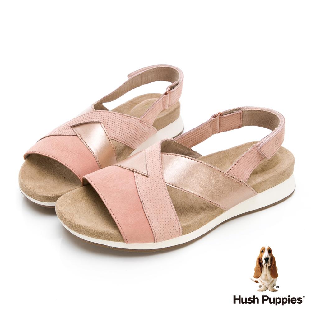 Hush Puppies Pepper 機能涼拖鞋-粉紅