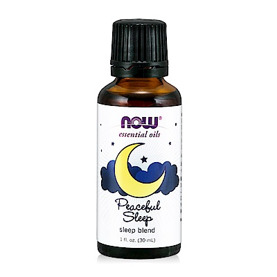 NOW Peaceful Sleep Oil Blend 晚安舒眠精油(30 ml)