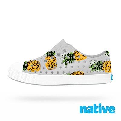 native 小童鞋 JEFFERSON 小奶油頭鞋-鳳梨灰