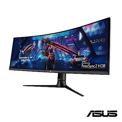 ASUS ROG Strix XG43VQ 43型 超寬HDR曲面電競螢幕 32:10 內建喇叭 高解析 FreeSync 1ms 120Hz