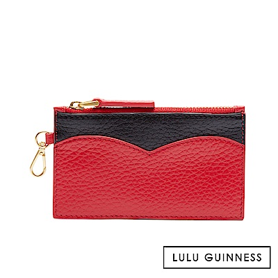 LULU GUINNESS CUPIDS BOW 零錢包 (紅)