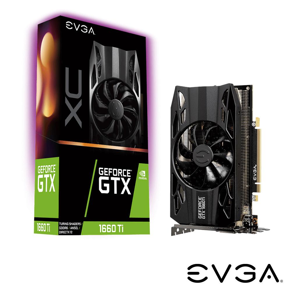 艾維克EVGA GTX1660Ti 6G XC GAMING GDDR6 PCI-E顯示卡