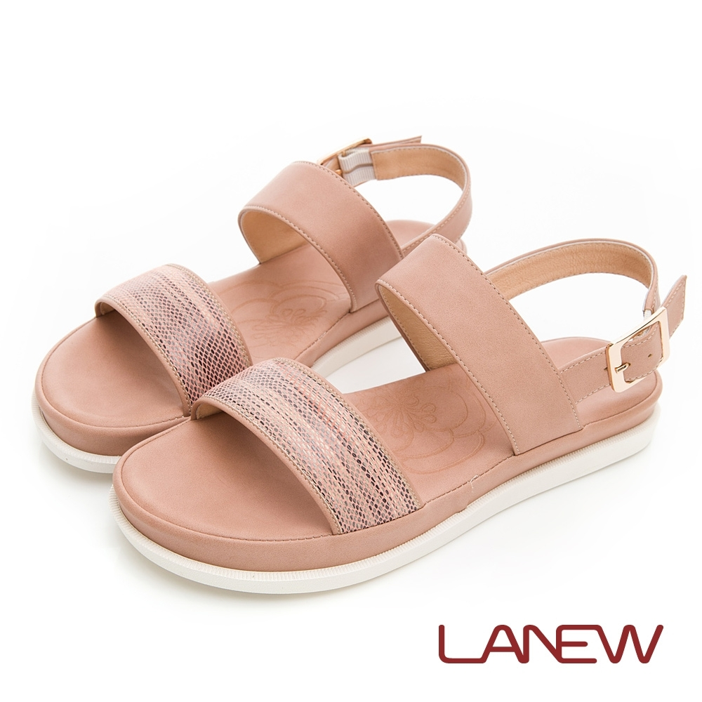 LA NEW SO Lite 彈力減壓 平底涼鞋(女225063756)