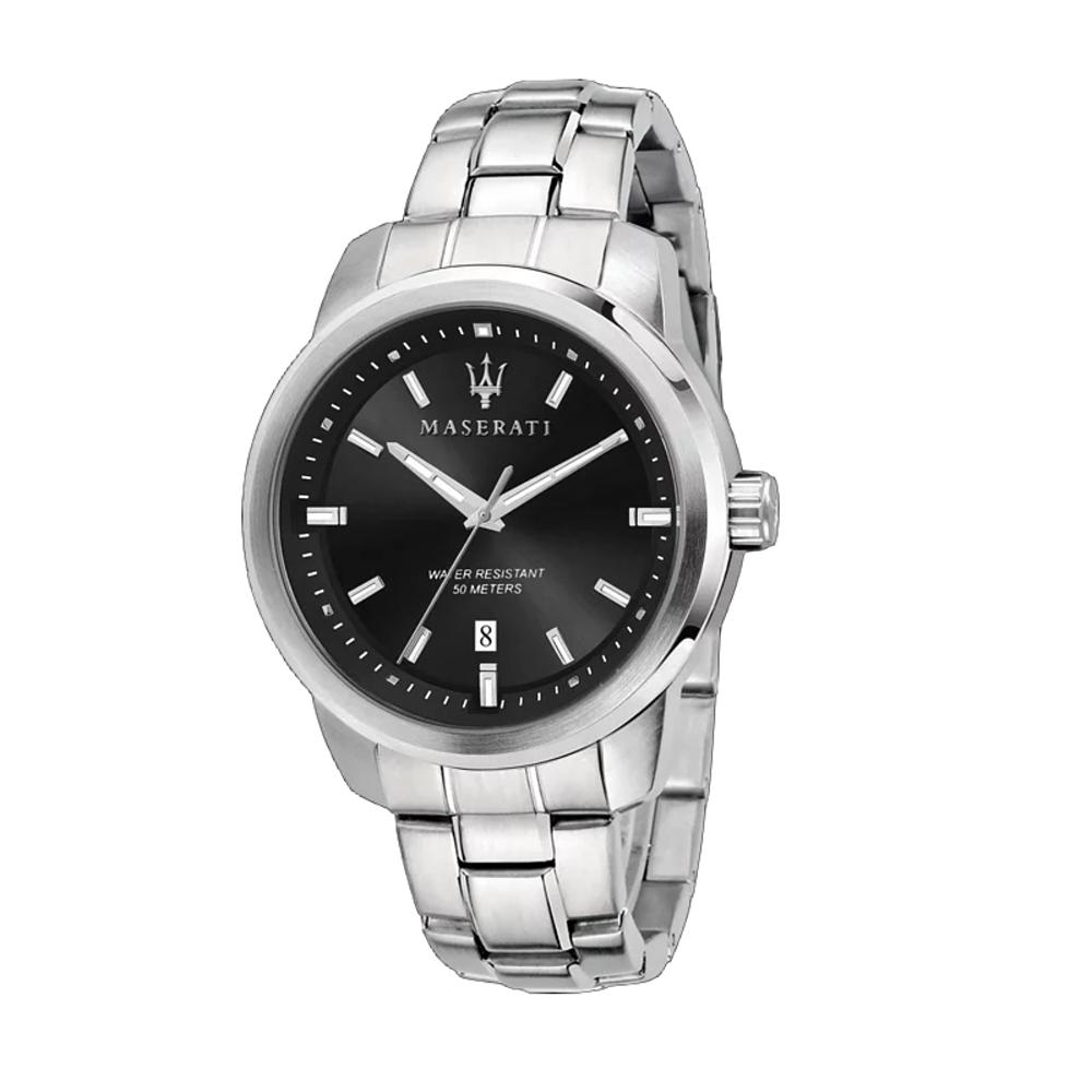 MASERATI 瑪莎拉蒂 SUCCESSO經典三眼腕錶44mm(R8853121006)