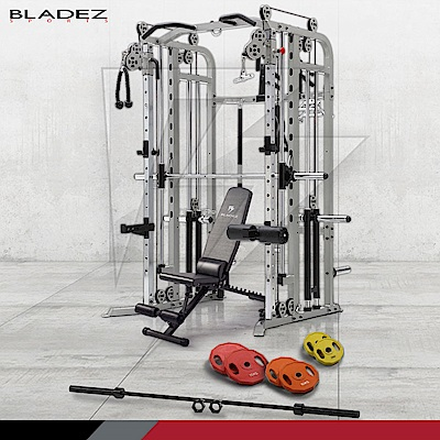 【BLADEZ】FWS1全方位重量訓練機-超值組