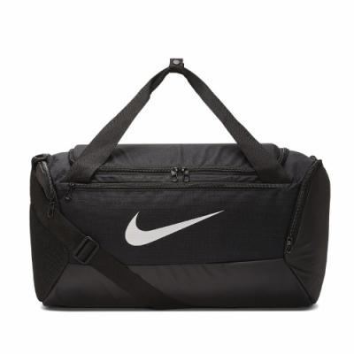 Nike 健身包 Training Bag 運動休閒 男女款 重訓 大容量 行李袋 手提 肩背 置鞋格 黑 白 BA5957010
