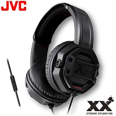 【JVC】重低音智慧型線控耳罩式耳機 HA-MR60X