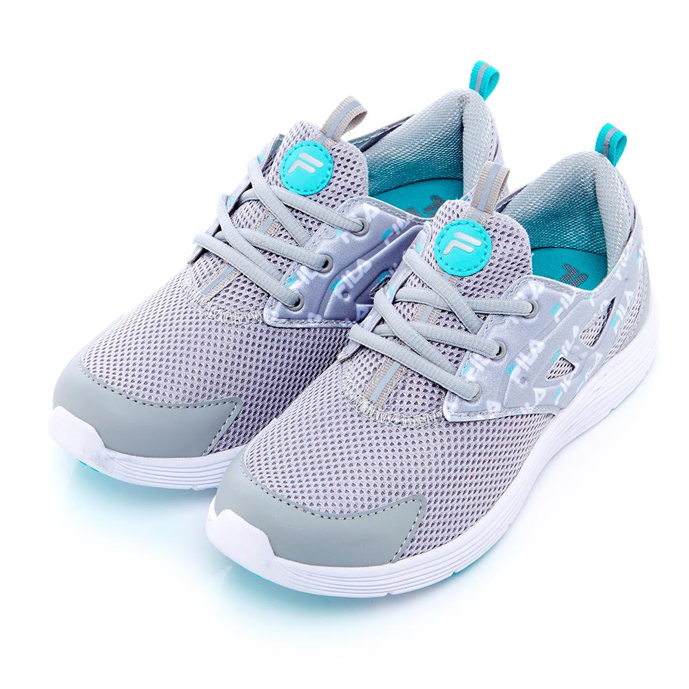 FILA 女款襪套式訓練鞋-灰5-X309S-413