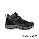 Timberland男款黑色麂皮SadlerPass健行鞋/靴|A1QQC