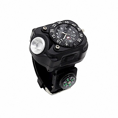 【WIDE VIEW】夜跑專用手錶手電筒(NZL-2211-P)