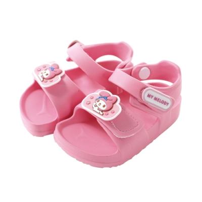 魔法Baby 女童鞋 台灣製Hello kitty授權正版輕量舒適涼鞋 sk1162