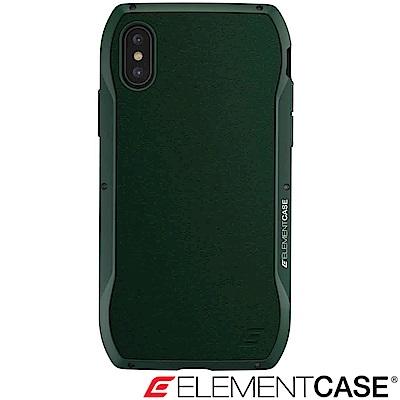 美國 Element Case iPhone XS Max Enigma旗艦真皮防摔殼-綠