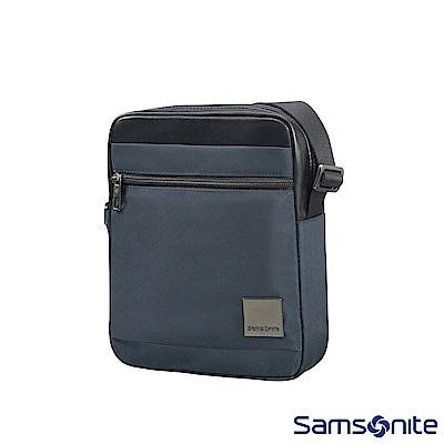 Samsonite新秀麗 Hip-Square輕量尼龍斜肩包7.9 (藍)