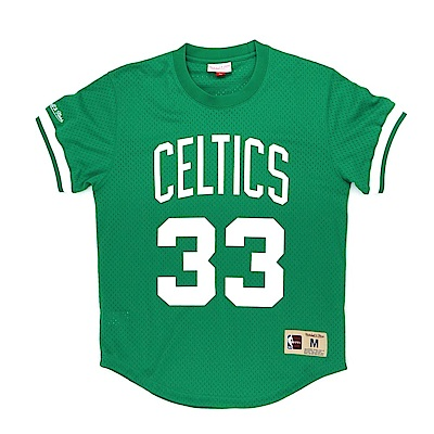 M&N NBA 球員號碼T恤 塞爾提克 Larry Bird