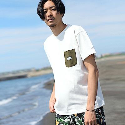素色短袖T恤棉Tee(7色) ZIP日本男裝