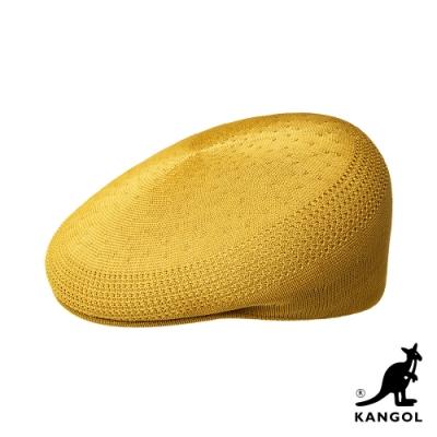 KANGOL-504 TROPIC 鴨舌帽-奶黃色