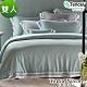 Tonia Nicole東妮寢飾 西雅圖綠霧環保印染100%萊賽爾天絲被套床包組(雙人) product thumbnail 1