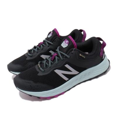 New Balance 慢跑鞋 Fresh Foam 寬楦 運動 女鞋 Gore-Tex 防潑水 避震 跑鞋 黑 藍 WTARISGBD