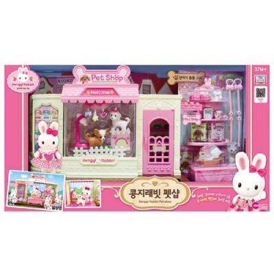 韓國 動物公仔 兔寶家族  - 溫馨寵物店