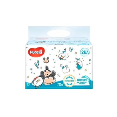 好奇 純水嬰兒濕巾(迪士尼限定版) 加厚型 70抽x2包x9組/箱