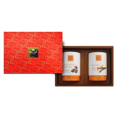 Diva Life 金鼠報喜-新年巧克力組合(鮮橘棒+咖啡豆巧克力)