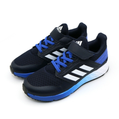 ADIDAS FortaFaito EL K 童 跑步鞋 漸層藍