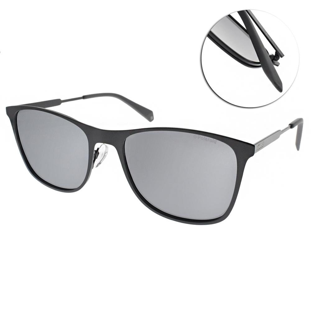 Polaroid 偏光太陽眼鏡 百搭方框款/霧灰 #PLD2051S KB7EX