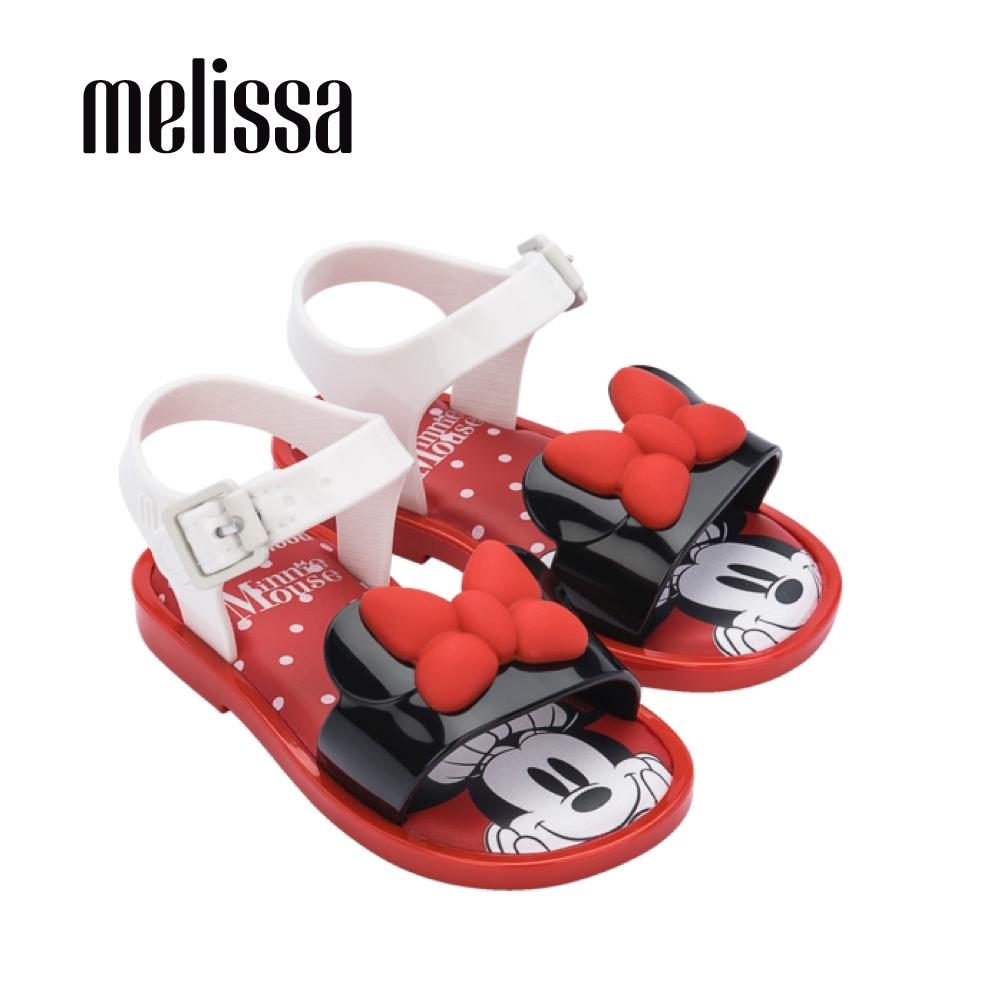 Melissa x MICKEY AND FRIENDS米妮造型涼鞋 寶寶款-白