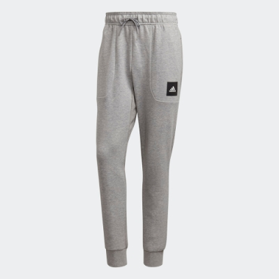 adidas 運動長褲 健身 訓練 男款 灰 FU0046 MUST HAVES STADIUM PANTS