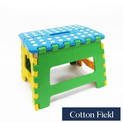 棉花田 繽紛 多功能折疊椅23x19x19cm (二件組)