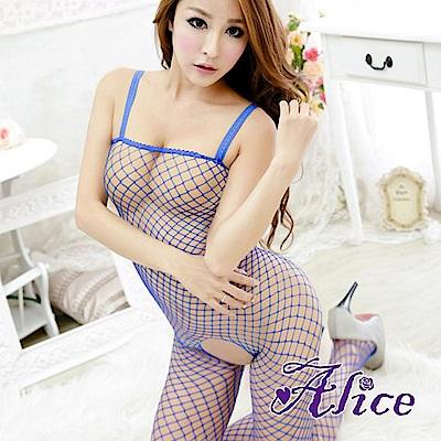 Alice 性感內衣情趣網衣連身襪漁網 AK236
