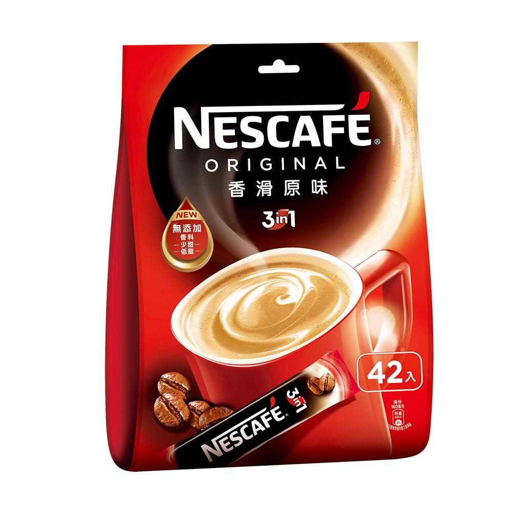 雀巢咖啡香滑原味袋裝(15gx42入)