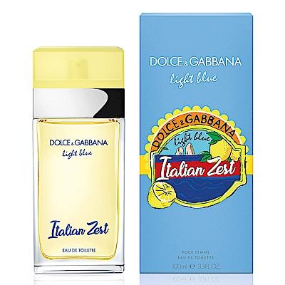 Dolce&Gabbana 熱情仲夏 限量版女性淡香水100ml