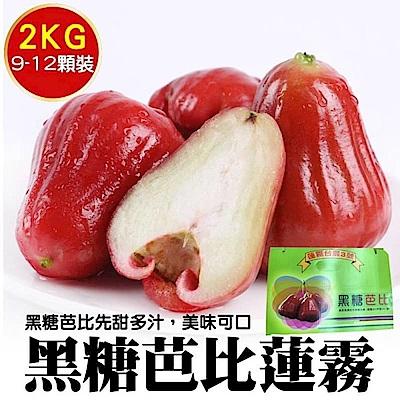 【天天果園】高雄六龜黑糖芭比蓮霧禮盒 x2kg (9-10顆)