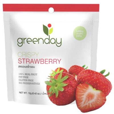 Greenday 草莓凍乾(12g)