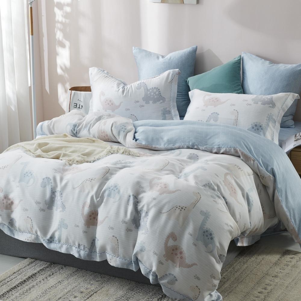 (限時下殺)La Lune 100%純天絲被套床包組 單/雙/大 均一價 (不失落的樂園)