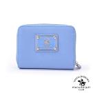 SANTA BARBARA POLO幸福微糖系列 拉鍊零錢短夾寧靜藍 SB58-03713