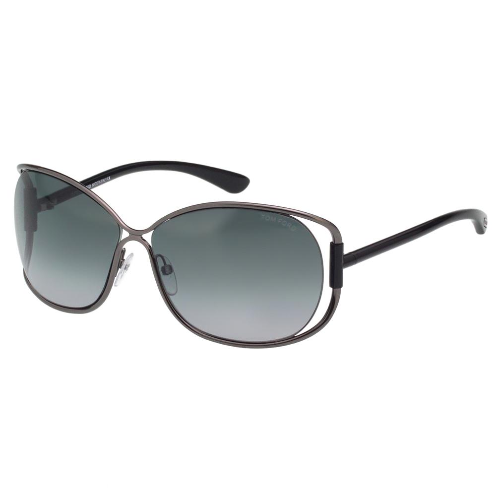 TOM FORD 經典款 太陽眼鏡-槍色-TF156 @ Y!購物