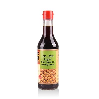 新加坡大華-純釀造淡醬油(生抽)305ML