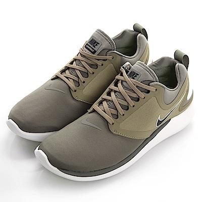 NIKE-男慢跑鞋AA4079007-墨綠