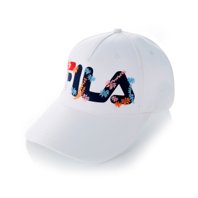 FILA 時尚LOGO帽-白 HTT-5201-WT
