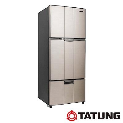 TATUNG大同 530公升變頻三門冰箱-琥珀金(TR-C530VP-AG)