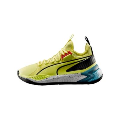 PUMA-Uproar Spectra 男性復古籃球運動鞋-淺黃色