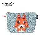 【COQENPATE】法國有機棉無毒環保布包 / 大大水堅包 -松鼠