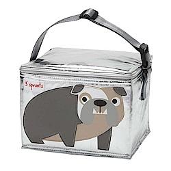 加拿大 3 Sprouts 保冷保溫手提袋 - 鬥牛犬 保冷袋 保溫袋 便當袋